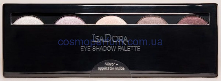 Палетка теней для век 5-цветные IsaDora Eye Shadow Palette Тон 56