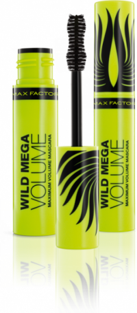 Тушь Max Factor WILD MEGA VOLUME (черная)